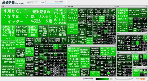 虚構新聞newsmap